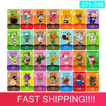 (271 to 310) Animal Crossing Card Amiibo Card Work for NS Games Series 3