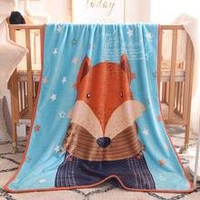 Коралловое Флисовое одеяло Детские флисовые простыни покрывала