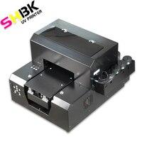 SHBK. 전화 케이스 병에 대 한 A4 UV 평판 프린터 전화 커버 금속 유리 나무 병 인쇄 기계에 대 한 UV 인쇄 기계