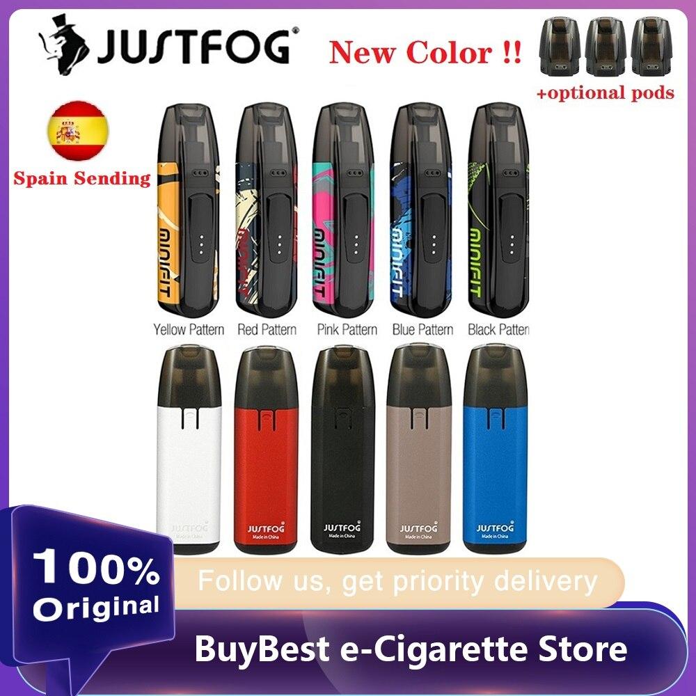 New Colors Kit Original JUSTFOG MINIFIT Starter Kit 370mAh With 1.5ml Refillable Cartridge & Built-in 370mAh Battery E-cig Vape