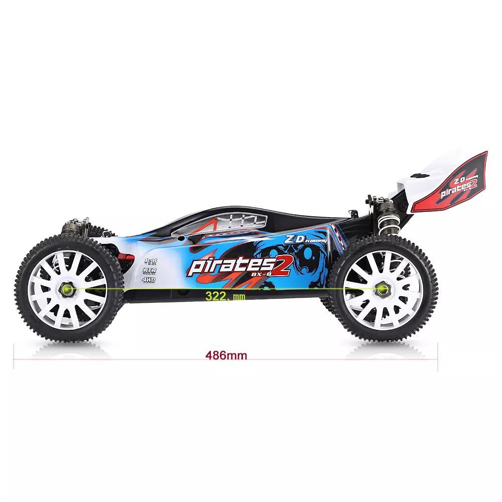 RCtown ZD Racing 9072 1/8 2,4G 4WD Bürstenlosen Elektro Buggy High Speed 80 km/h RC Auto-in RC-Autos aus Spielzeug und Hobbys bei  Gruppe 2