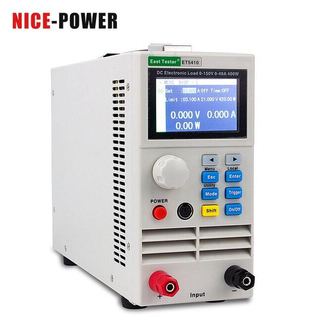 150V 40A/15A 400W 전문 프로그래밍 가능 DC 전기 부하 디지털 제어 DC 부하 전자 배터리 테스터 부하 측정기