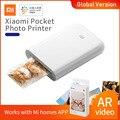 Глобальная версия Xiaomi mijia AR принтер 300 точек/дюйм портативный фото мини карман в стиле «сделай сам»; Удельный вес 500 мА/ч, изображение Карманн...