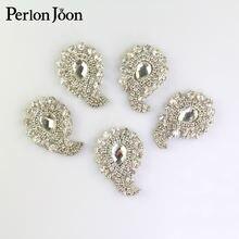 5 шт серебряные наклейки для украшения свадебной обуви