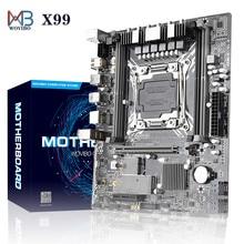 Nouveau X99 LGA 2011V3 carte mère USB 3.0 SATA III M.2 NVME SSD DDR4 mémoire pour Intel 2011-3 i7 Xeon E5 CPU carte mère Placa mae