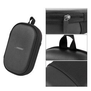 Image 4 - הגנת באיכות גבוהה מקרה עם Carabiner אחסון תיק לבוס QC15 QC25 QC35 אוזניות מקרה תיבת לbose אוזניות 35 השני