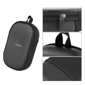 Image 4 - High Quality Protection Case with Carabiner Storage Bag for Bose QC15 QC25 QC35 Headphone Case Box for Bose QuietComfort 35 II