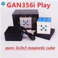 gans 3x3x3 cube GAN356i play 3x3x3 Magnetic Magic cube GAN 356 i play 3x3x3 speed cube GAN356 i play 3x3 Magnetic puzzle cube