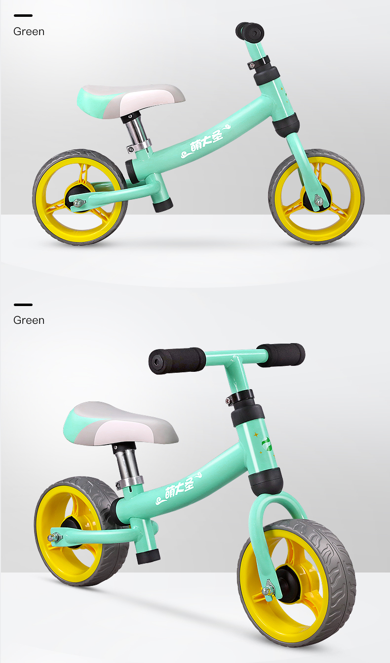 He115c138df3048029e4e1b6b5eb16f30h Montasen Children Push Bike for 1.5- 3 Year Old Kids High Carbon Frame Balance Cycle for Boy Girls to Walk Mini Push Bicycle