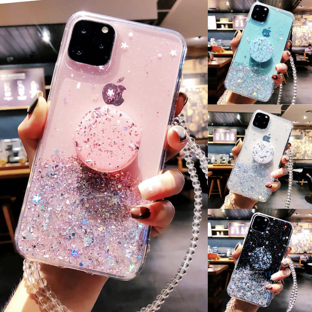 Bling Glitter Standing Case For iPhone Models Plus Slim Case With Stand Holder 6