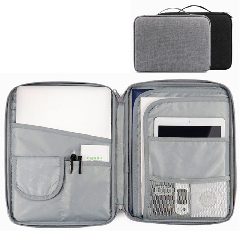 2020 Document Storage Bag Home Important Documents Hukou Finishing Bag Multifunctional Travel Passport Protective Case A4