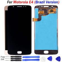 For Motorola Moto E4 LCD Display Touch Screen Digitizer Assembly Replacement For MOTO E4 XT1762 XT1763 Display Brazil Version стоимость