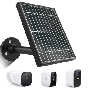 Solar-Panel Eufycam Power-Maintain-Battery for 2c/E/2 Continuous Lif