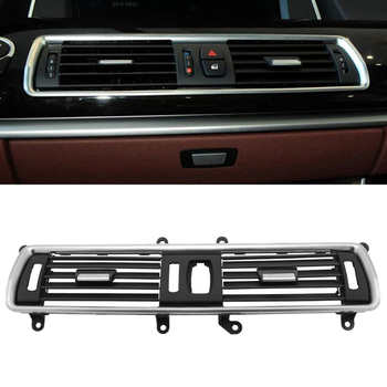 Car Front Center Console Air Conditioning Vents Air Outlet Dash Panel Grille Cover for BMW 5 Series GT F07
