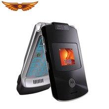 Cellulare usato originale sbloccato Motorola RAZR V3xx 2.2 pollici 1.3MP GSM cellulare