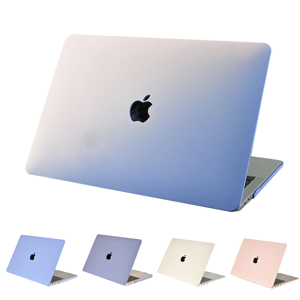 Nouvelle coque rigide mate pour ordinateur portable MacBook Air 13 pouces et Pro Retina 13.3 15 avec barre tactile pour MacBook 13.3 Pro étui pour ordinateur portable