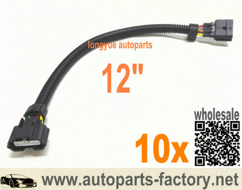longyue 10pcs 6 Way  MAF Connector Extension for Nissan Infinity