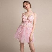 Sexy Prom Dress See Through V-neck Flowers Hand Sweet Mini Prom Dress Short Girl Birthday Party Dresses Gala Dress Elegant Gown