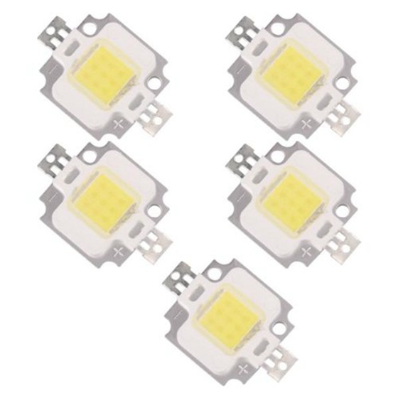 5 X LED MODULE LED LAMP BULB WHITE NATURE 10W 20000K 9 - 12V 900LM