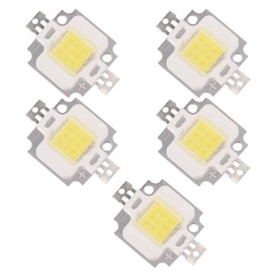 5 X LED MODULE LED LAMP BULB WHITE NATURE 10W 20000K 9 - 12V 900LM