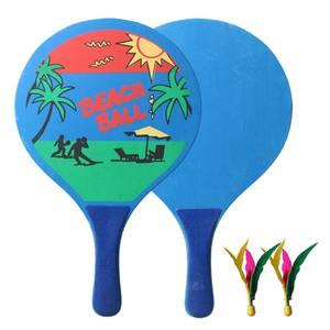 Badminton-Racket Paddles Cricket Tennis Wood Entertainment Fitness-Set Shoot Fun Creative