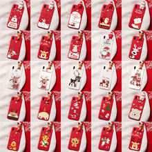 Happy New Year Gift Case For Huawei Y5P Y6P Y7P Honor 9S 8X 10i 20i 9A 10 20 9 Lite Pro Christmas Deer Santa Claus Phone Case