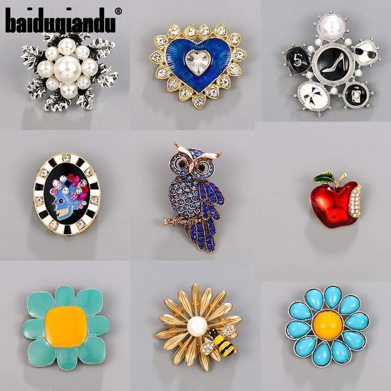baiduqiandu Beautiful Pins and Brooches Collection Factory Direct Sale Plenty of Stock|Brooches| - AliExpress