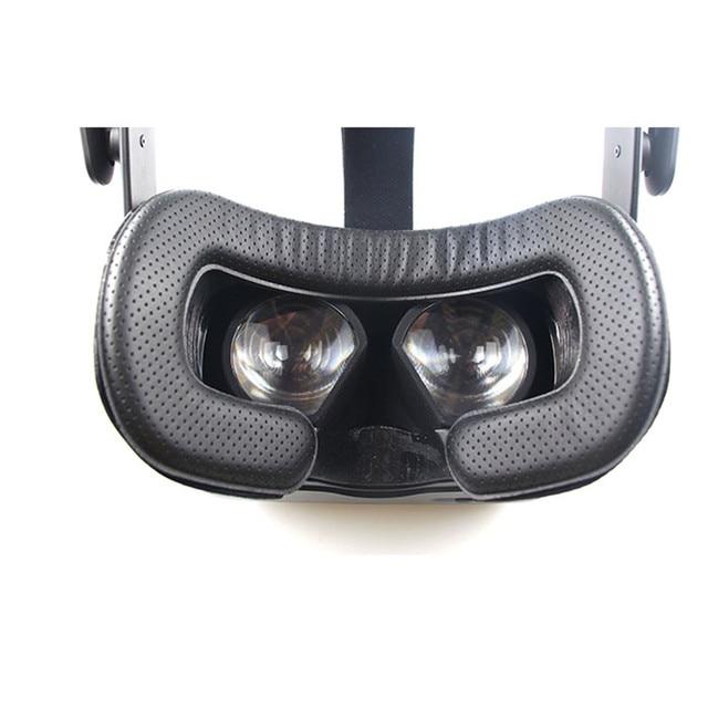 VR Maschera per Gli Occhi Viso Pad Zerbino Magica Cornice Sticker set per la Sostituzione DELLA VALVOLA indice VR Auricolare Accessori