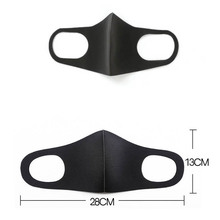 Washable Mouth Mask Face Mask Dust Mask N95 Outdoor Environment Mouth Mask Facial Respirator Fashion Black Mask)6 Pcs