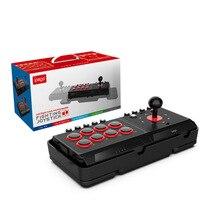 DC5V USB Wired Joystick Combattimento Arcade Stazione di Lotta Stick Controller di Gioco con Turbo Macro per PS4/PS3/NS interruttore/Android/PC