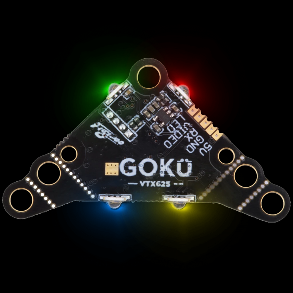 Flywoo Goku VTX625 Pit 25 Mw 50 Mw 100 Mw 200 Mw 450 Mw Vtx Commutabile Fpv Trasmettitore 5V 30X30X4 Mm per Fpv da Corsa Del Rc Drone Stuzzicadenti