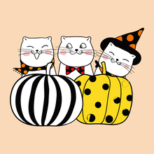 AZSG Happy Halloween Pumpkin Cat Clear Stamps/Seals For DIY Scrapbooking/Card Making/Album Decorative Rubber Stamp Crafts