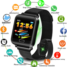 LIGE 2019 New Fitness Smart Watch Men Women Waterproof Sport Smart Bracelet OLED Heart Rate Monitor Tracker For Android IOS цена 2017