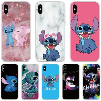 Перейти на Алиэкспресс и купить Чехол для телефона Lilo Stitch Ohana для LG Stylo 6 5 4 Aristo 5 Plus K31 K51 Velvet V50S G7 G8 ThinQ K11 K10 K9 K8 Rakuten Mini Cover