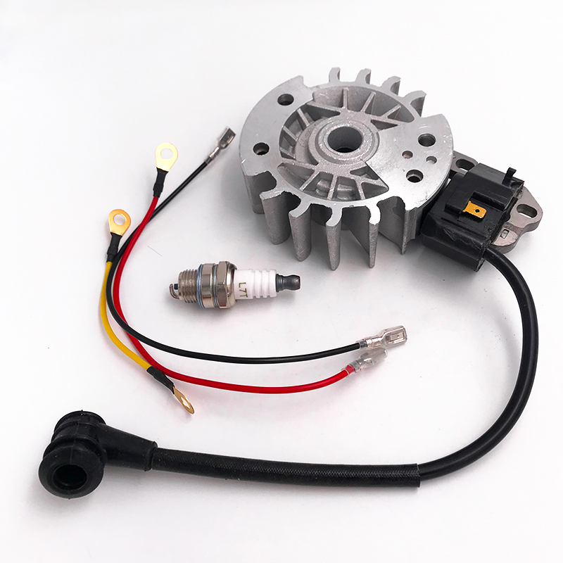 HUNDURE Flywheel Ignition Coil Spark Plug Kit For STIHL 021 023 025 MS210 MS230 MS250 MS 210 230 250 Chainsaw Parts