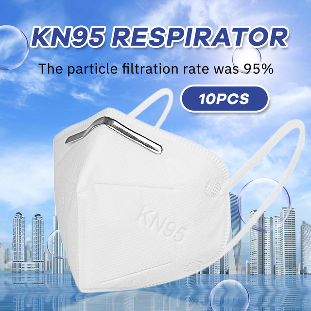 Protective Safety as FFP2 KF94 Face Mask KN95 Masks 5 Layers Dust Flu Anti Infection N95 Mouth Masks Particulate Respirator ffp3 1