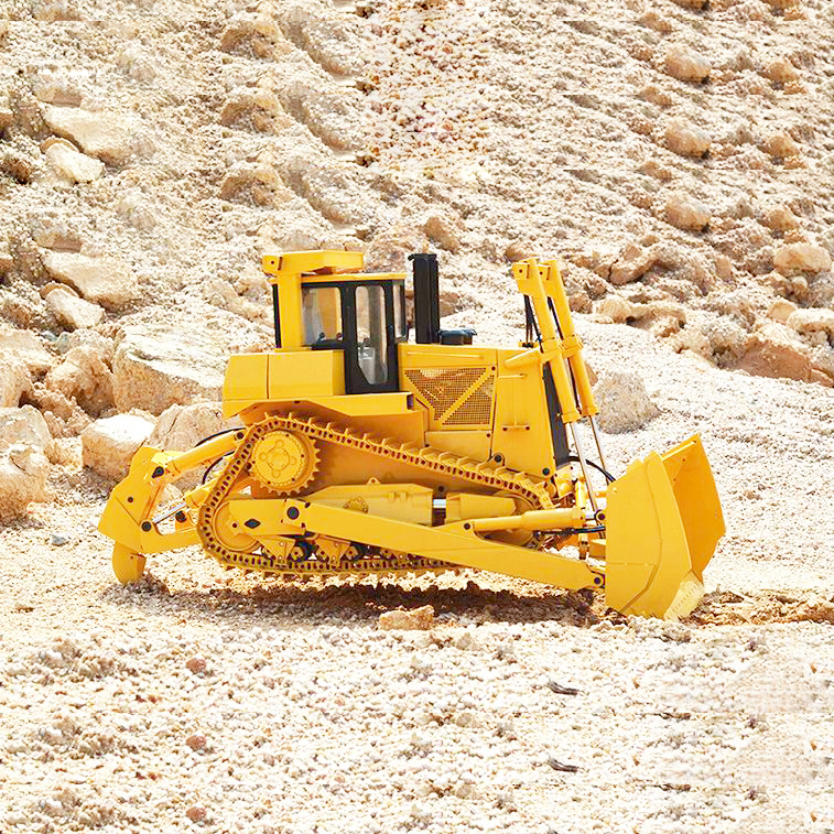 All-metal 1/14 Remote Control Hydraulic Engineering Vehicle 1/14 Remote Control Hydraulic Bulldozer Model