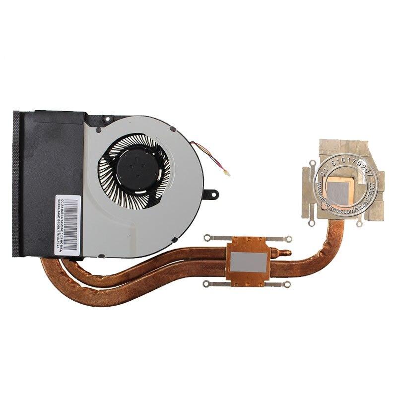 NEW CPU FAN FOR ASUS N56VM N56 Cooling Fan Fan&heatsink Original KSB0705HB BK35