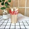 2pcs Coca gold