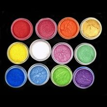 Resin Jewelry Colorant Dye Mica Pearl Pigment Superfine Powder Resin Dye Craft 54DC