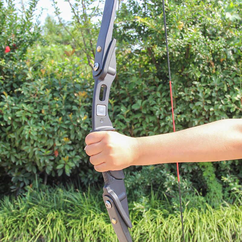 18 ポンド 56 インチ狩猟弓反らす弓アーチェリー屋外狩猟撮影アクセサリー