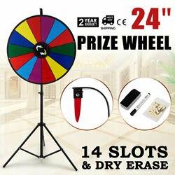 60cm partie prix roue modifiable effaçable à sec Spin gagner Fortune jeu de support de rotation