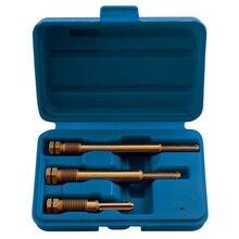 3 шт. набор для удаления свечей экстрактор и развертки и очистки, M10 и M12