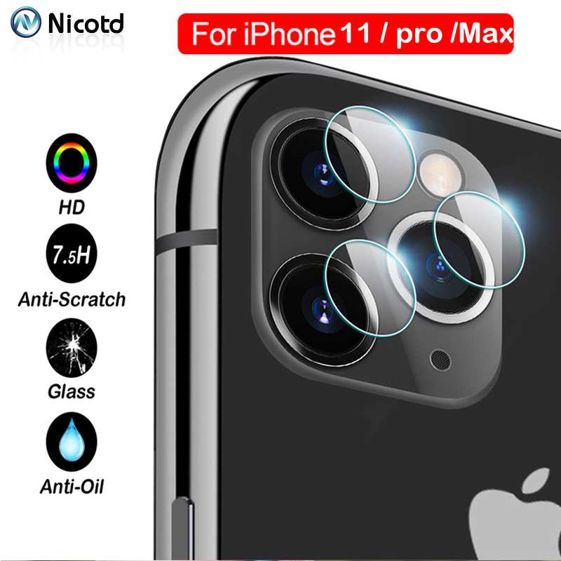 Camera Tempered Glass Lens For IPhone 11 Pro Max Screen Protector For IPhone XS MAX XR X Film On IPhone 8 7 6 6s Plus Glass