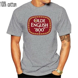 Olde English 800 - Black T-Shirt - High Quality! Ships Fast!