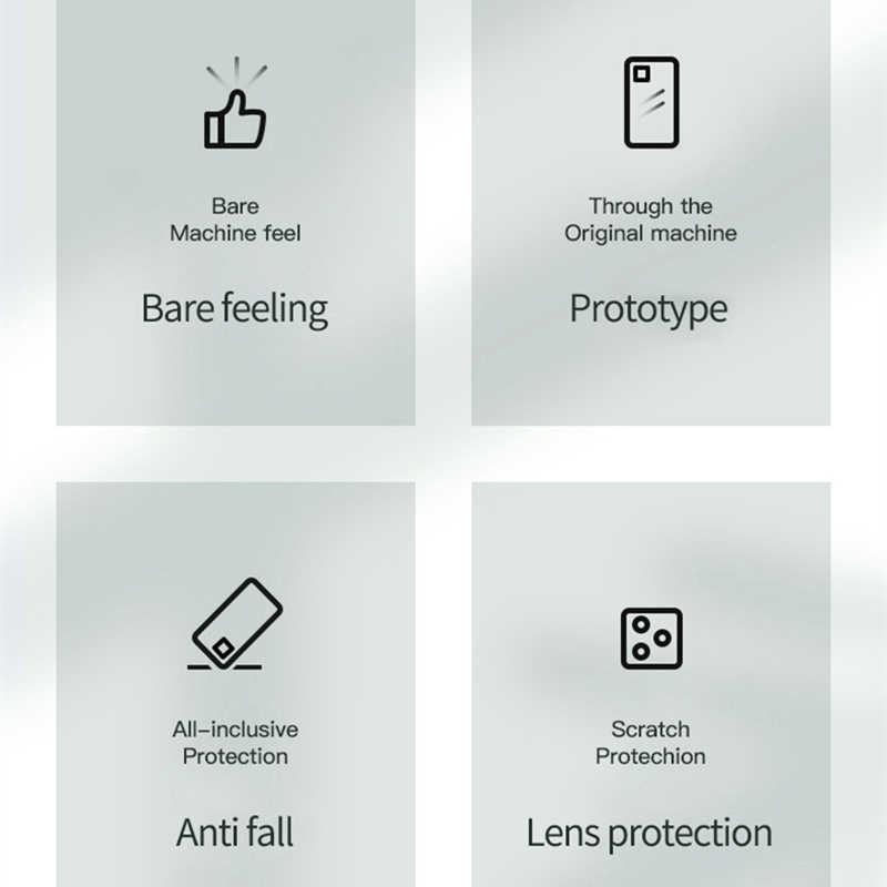 מט ציפוי ברור טלפון מקרה עבור iPhone 11 פרו מקס מקרים עבור iPhone 6 6S 7 8 בתוספת X XS XR רך צבעים בוהקים כיסוי קאפה Fundas