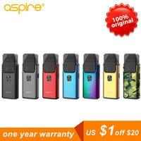 Aspire Breeze 2 AIO vape pod kit 2ml/3ml capacity Atomizer vaporizador 1000mAh Battery box mod electronic cigarettes
