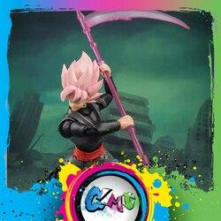 CMT In Stock Demoniacal Fit Dragon Ball Gokuu black SHF Action Figure Anime PVC Toys Figure