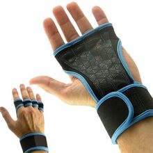Half Finger Gloves Women Men Anti-Slip Breathable Wrist Support Fitness Weight Lifting Dumbbell Dead Lift Pull-up Sports New