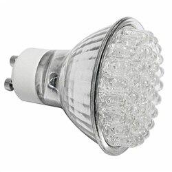 ICOCO 5x48 LED GU10 żarówki ciepłe białe lampy energooszczędne reflektor w Reflektory od Lampy i oświetlenie na
